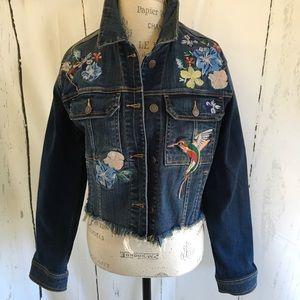 Jackets & Blazers - Embellished Jean Jacket